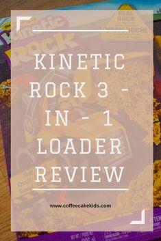 Kinetic Rocks 3 in 1 Loader Set | Review - Coffee, Cake, Kids