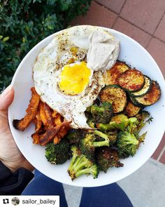 Heres an awesome confidently seasoned breakfast (we are kindred spirits no doubt!!) from @sailor_bailey featuring roasted veggies with our New Bae Seasoning. This breakfast is #whole30 compliant except for the sauce so maybe just skip over that part if youre doing the #januarywhole30 along with us.  Stay warm today friends!! Thanks for the #primalpalatespices love Bailey!  # PIC: @sailor_bailey Forget my ugly looking egg (its a bit overcooked).... but if you don't roast your veggies in tons…