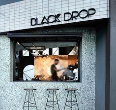 Black Drop Coffee Shop by Ark4LO Architecture | Yellowtrace