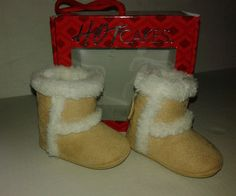 Size 1 Fur Baby Booty Boots Tan Free Shipping New in Box #HOTCAKES #Boots