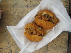 Crawfish Piistolettes from Lagniappe Today food truck
