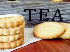 Receta de Galletas de mantequilla: Aprende a cocinar Galletas de mantequilla de la forma más sencilla y dulce!