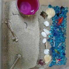 Caja sensorial playa