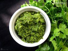 Koriandrové pesto Pesto Dip, Guacamole, Ethnic Recipes, Food, Essen, Meals, Yemek, Eten