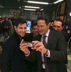 Grimm David and Sasha Roiz