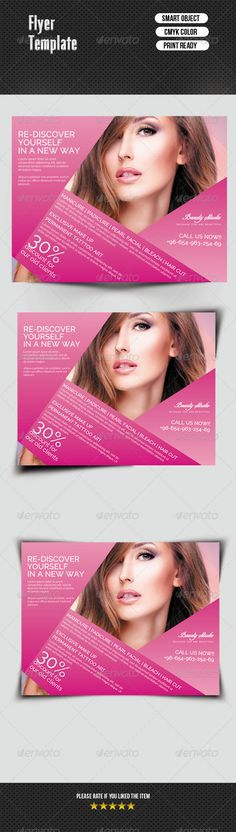 Flyer  Beauty Saloon   Templates Beauty And Flyers