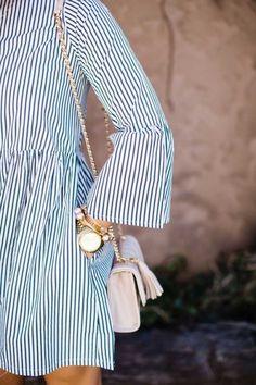 rien que des raies ミ  robe tunique rayure printemps été marinière (spring summer dress stripes marine)