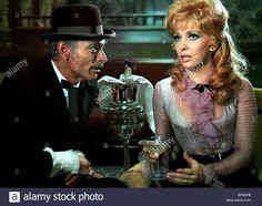 Lee van Cleef and Gina Lollobrigida in Bad man's river 1971 Lee Van Cleef, John Russell, Howard Hughes, Gina Lollobrigida, Love Scenes, Western Movies, Angel Eyes, Wildlife Art, Movie Stars