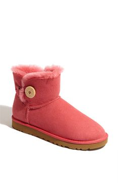 UGG® Australia 'Mini Bailey Button' Boot (Women)   Nordstrom