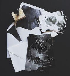 Dark Watercolor Suite