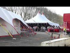 le cirque BOUGLIONE  s'insttale à ANGERS