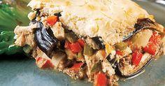 Aprenda a preparar a receita de Torta de berinjela da Angélica