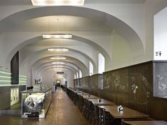 AMBI LOKÁL, modern czech restaurant in the meantime authentic food and atmosphere. Dlouha street, Prague