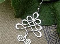 Celtic tree  Wire jig, twisted wire