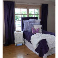 Chiffon Bedding in Lavender from PoshTots