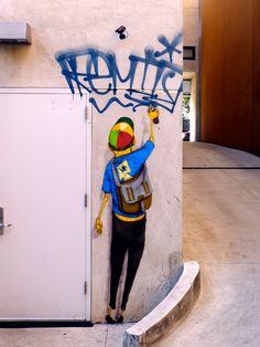 Street Art: Os Gemeos in Los Angeles