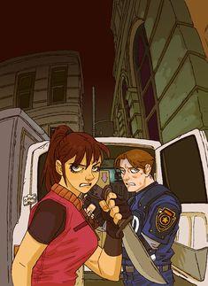 122 by pietro-ant on DeviantArt Resident Evil Costume, Resident Evil Anime, Resident Evil Girl, Leon S Kennedy, Evil Art, Video Game Art, Video Games, Anime Sketch, Illustration Sketches