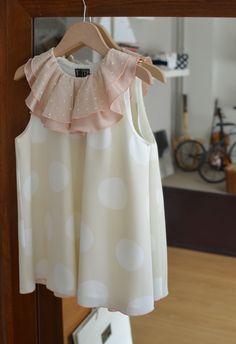 Love the fabric in this little sun dress. Dress Lampedusa Bbk, summer 2013