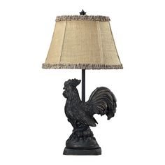 """View the Dimond Lighting 93-91391 1 Light 25"""" Height Accent Table Lamp from the Braysford Collection at LightingDirect.com."""