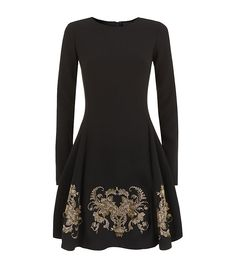 Black Embellished Dress - JUST CAVALLI