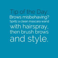 #eyebrows #hairspray #style