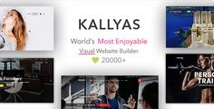 KALLYAS – the all-in-1 multipurpose WordPress theme, responsive, lightweight, drag & drop visual page builders & no coding required, 6 months support included. We found Kallyas in so many professional businesses, it`s incredible how creative people are.  Demo: https://themeforest.   #agency #business #creative #ecommerce #fashion magazine #graphic designer #health insurance #interior furniture #medical care clinic #minimal portfolio #news blog #personal trainer #real estate