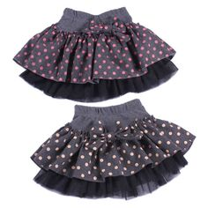 Kids Girls Cotton Many-Dot Woolen Bowknot Skirts Cute Princess Skirts Size 2-7YDrop&FreeShipping https://t.co/m8IllEMRAc