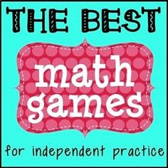 Are you and your students tired of math class feeling the same every single day? Here are 5 great math games for independent practice that will get kids out of their seats and having fun, while at the same time mastering your daily objective. I have spent 13 years tweaking and perfecting these games and I use them almost everyday.
