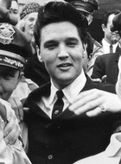 March 8, 1961 - Elvis' visit to the Tennessee Governor's Residence