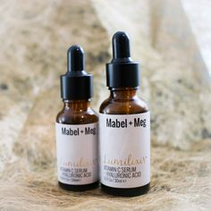 Mabel and Meg's Lumilixir Serum is the ultimate hydrator for your skin, containing the key ingredients, Vitamin C and Hyaluronic Acid. Try it today!
