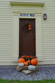 Fall front door... our Connor Home 2012