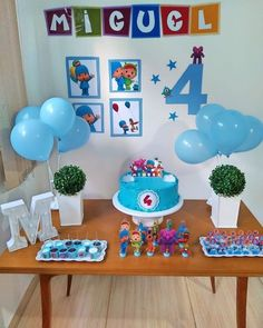 Birthday Goals, 1st Boy Birthday, 1st Birthday Parties, Diy Birthday Decorations, First Birthdays, Bernardo, Toddler Boy Birthday, Birthday Party Themes, Themes For Parties