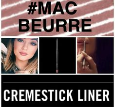 Mac discontinued  beurre lip liner