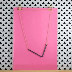 Animated preview of the Confetti & Fireworks necklaces by House of Thol