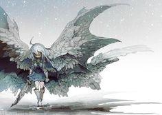 담아간 이미지 Manga Art, Anime Manga, Anime Art, Angel Demon, Estilo Dark, Anime Kunst, Art Studies, Fantasy Girl, Character Design Inspiration