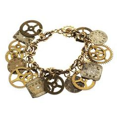 jewelry made from watch parts - Google Search