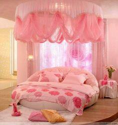 girl's pink #bedroom