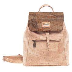 Nachhaltiger Rucksack «Golden Mapa» aus Kork von Montado online Leather Backpack, Backpacks, Bags, Fashion, Personal Style, Pocket Wallet, Sustainability, Leather, Handbags