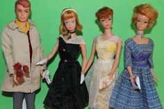 vintage Barbie Ponytail / Midge/ Bubblecut & Allan & Barbie Fashion Lot 60er | Jouets et jeux, Poupées, vêtements, access., Poupées mannequins, mini | eBay!