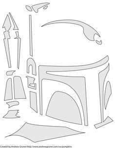 Boba Fett Template... I will have an amaze balls pumpkin this year...
