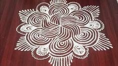 Big Rangoli Designs, Padi Kolam, Traditional, Simple