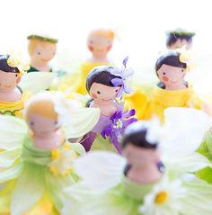 Bambole fai da te per bambini - Idee fai da te