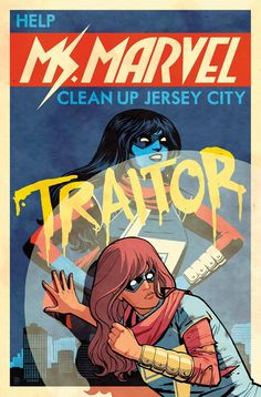 Browse the Marvel Comics issue Ms. Marvel Learn where to read it, and check out the comic's cover art, variants, writers, & more! Avengers Comics, Marvel 3, Marvel Series, Captain Marvel, Marvel Universe, Comic Book Covers, Comic Books, Ms Marvel Kamala Khan, Wilson Art