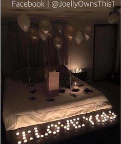 Romantic Surprise for Her @ChantiCxxx