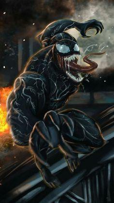 Marvel Comics, Venom Comics, Marvel Venom, Marvel Villains, Marvel Heroes, Marvel Avengers, Venom Art, The Venom, Spiderman Art