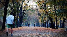 Cuidados para correr no outono