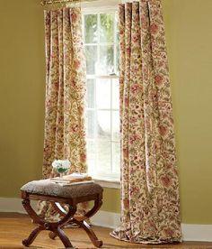 Hatfield Lined Rod Pocket Curtains