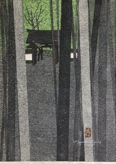 Japanese Woodblock Print, Saito Kiyoshi : Lot 3104