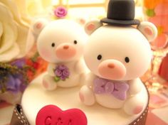 bear cake topper