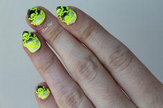 Julep Maven October box Coco Hernandez Halloween nail art